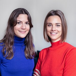 Laura Seiler (left) and Nadine Deuring are the founders of Lyght Living.