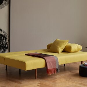 Recast – sofa during the day, comfortable bed at night.