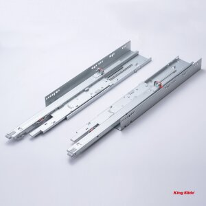 King Slide SIMLEAD,  Undermount Drawer Slide Wooden Drawer System, 1F86, New Generation of Push Open Function with Soft Close
