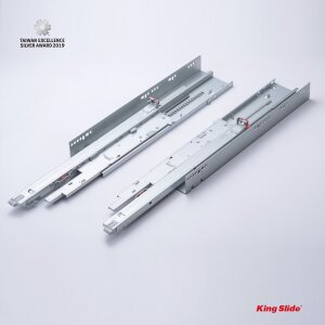King Slide SIMLEAD Undermount Drawer Slide,  (SIMLEAD Undermount Drawer Slide must be installed with SIMLEAD Metal Box)