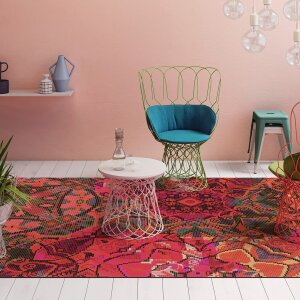 RUGXSTYLE Marrakesh rug, finished with WELLTEX® acoustic backing