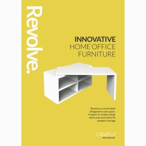 Revolve - your space saving work desk at home