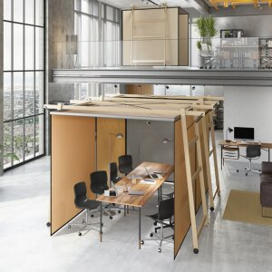 SKYROOM OFFICE - mobiler Raum