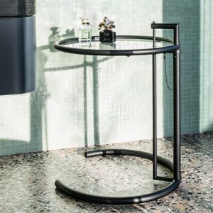 Adjustable Table E 1027 by Eileen Gray (Classicon)
