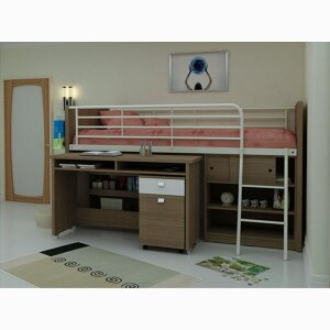 MG-7015 double-bunked bed