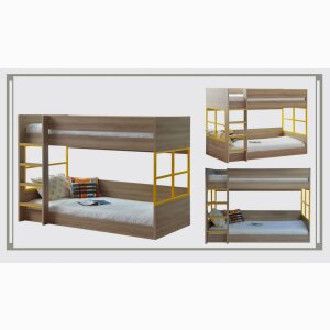MG-7463 Double-decker bunked bed