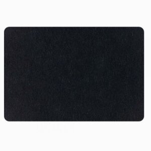 Felt set placemat square rounded 33x45cm
