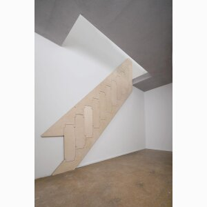 Foding staircase Klapster, model Comfort