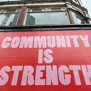 Community makes you strong - that is the motto that is holding people together at the moment of the pandemic all over Europe.