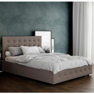 Cambridge Upholstered Bed with Storage