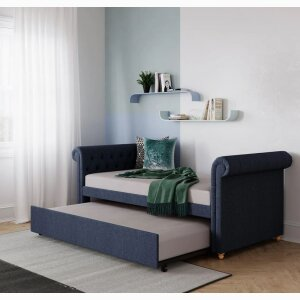 Sophia Upholstered Daybed and Trundle