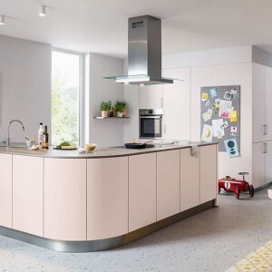Kitchens without wall units