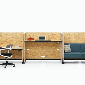 Multifunctional furniture for small areas